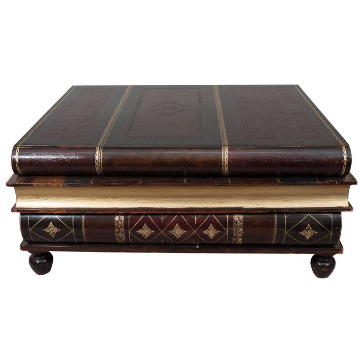Best Maitland Smith Stacked Books Coffee Table From A Unique 400 x 300