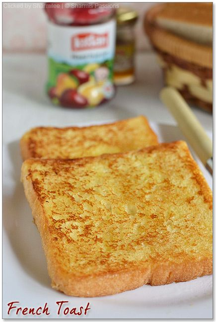 Best 25 french toast without milk ideas on pinterest eggless french toast recipe easy french toast without eggs sharmis passions ccuart Images