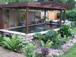 Pergolas and ponds on pinterest for Pond shade ideas