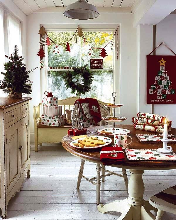 25 Amazing Holiday Ready Home Decor für Weihnachten