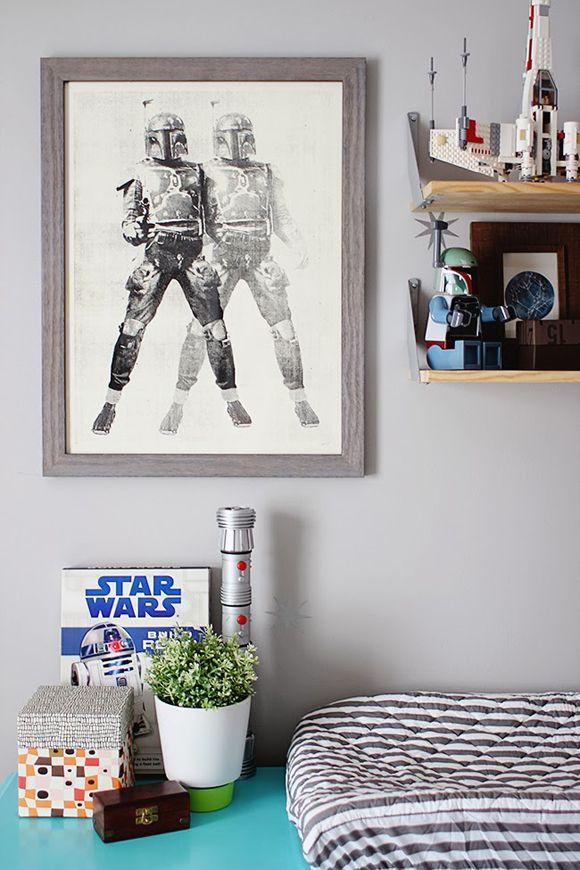 17 meilleures idées à propos de Chambre De Star Wars sur Pinterest  Salle de