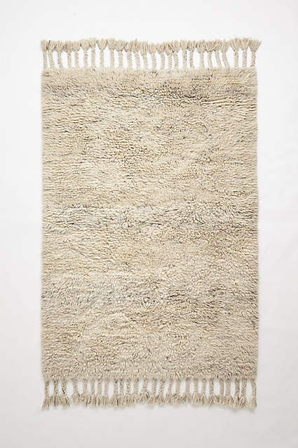 Fringed Flokati Rug - anthropologie.com