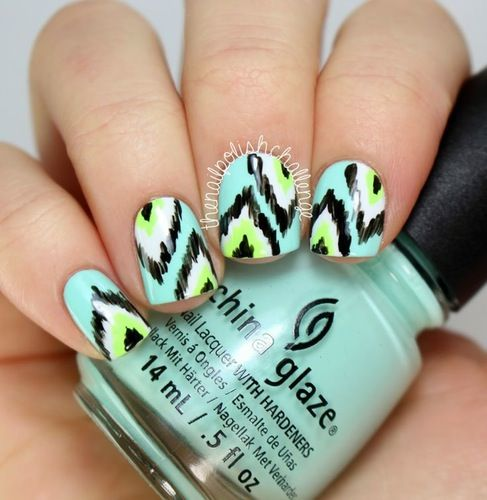 Teen Choice Awards Inspired Nail Art
