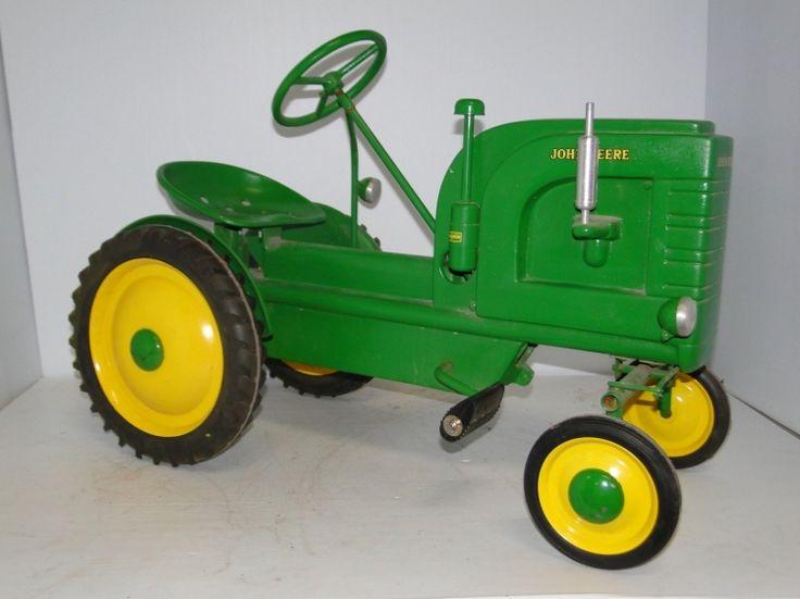 Tractor Pedal Car Parts : John deere model l pedal tractor tractors