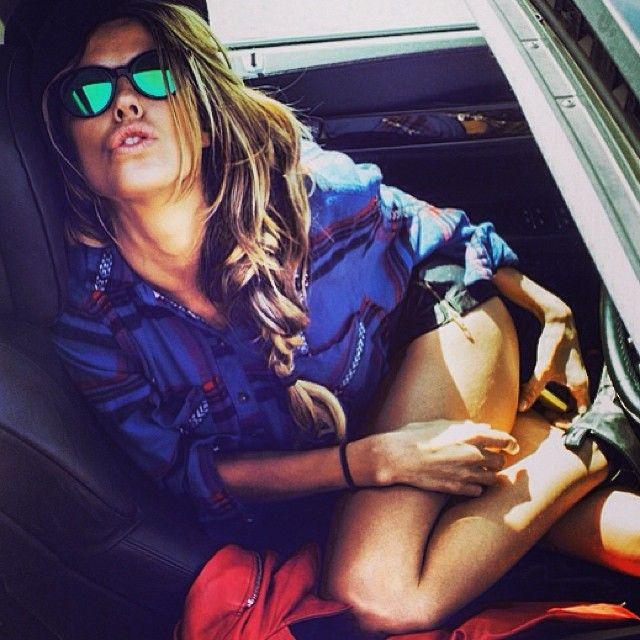 Marta Graeff in Spektre Vitesse, Sensual sunglasses #shoponline on http://www.diecidecimi.org/it/occhiali-da-vista/Spektre-Vitesse-New-Colours-5787.aspx?pinterest=