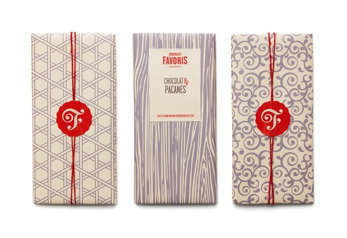 Chocolats Favoris #Packaging #Branding #Design