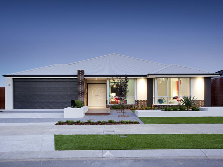 39 the genesis 39 elevation 17m frontage double glazed entry for Brick elevation design