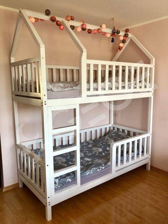 Bett Haus Kind