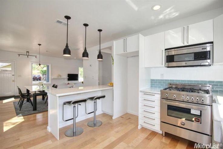 Cool Looking Modern Kitchen 5032 U St Sacramento Ca 95817 Homes For Sale Kitchen