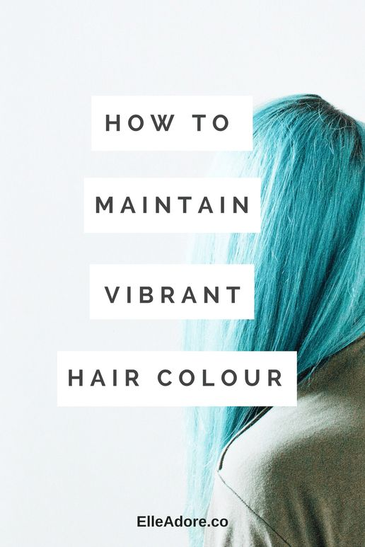 Elle Adore -  Do you have colored hair? Is it a pain to maintain?! I feel ya. Here are my tricks to keeping my purple - purplely