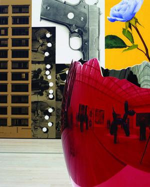 Egg and Gun, at Large, 2008, Louise Lawler
