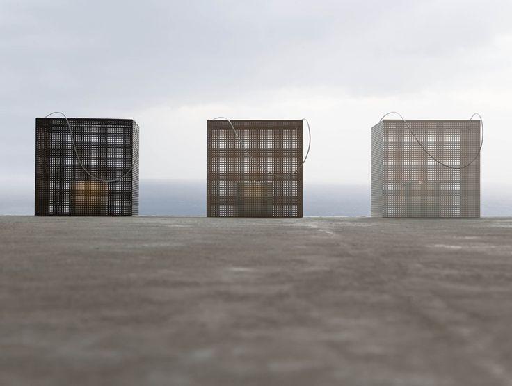 Lanterna in alluminio FEZ by GANDIA BLASCO   design José Antonio Gandía-Blasco