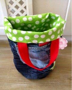 PedisHandmade: Utensilo & Taschenutensilo aus alten Jeans