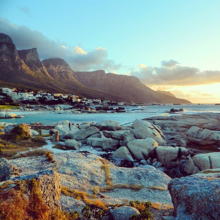 Camps bay near Cape Town South Africa