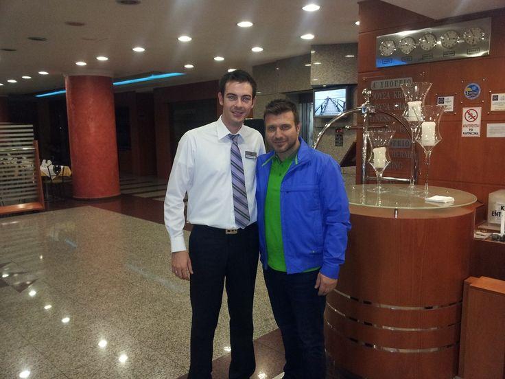 Ο Πλούταρχος στο Z Palace Hotel & Congress Center