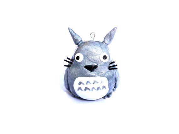 Totoro totoro necklace totoro jewelry huge by LittlePandahugs