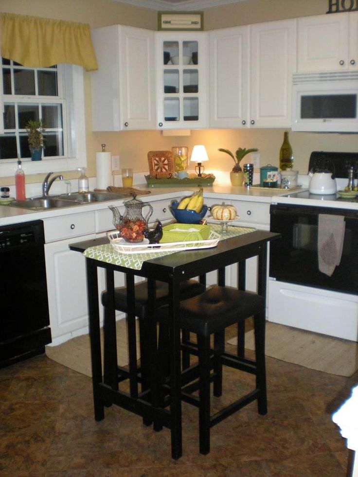 51 Awesome Small Kitchen With Island Designs - Page 4 of 10
