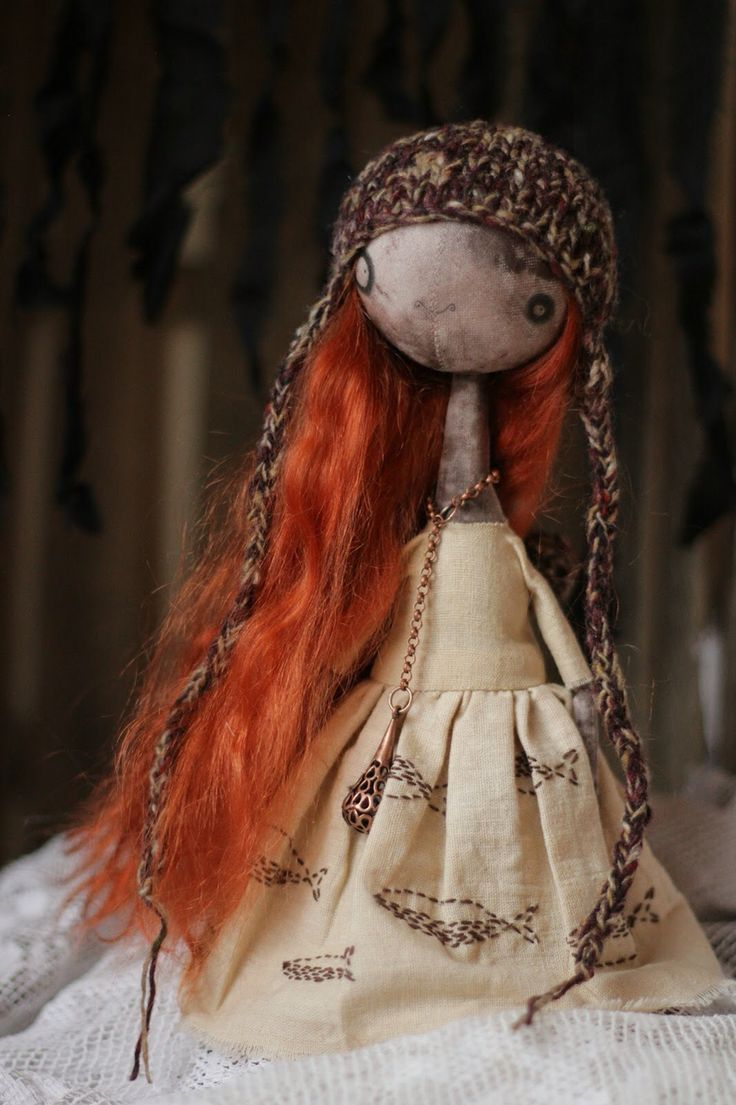 Doll textile create monster