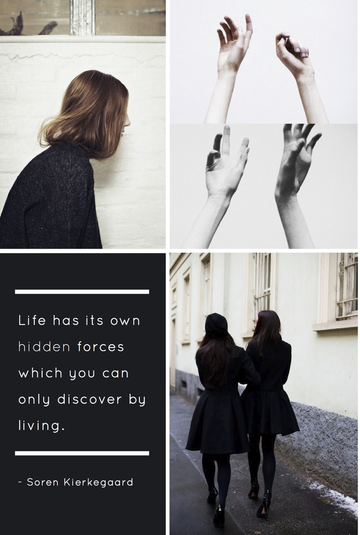 living a life by kierkegaard and camus Existentialism and absurdism  for giving one's own life meaning and with living life passionately  as camus described, that life's absence of meaning seems.