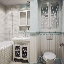 Интерьер ванной в стиле прованс: особенности, фото-6