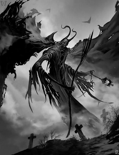 Diabolical Shadows by Ramses Melendez