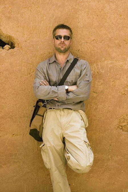 Brad Pitt w/ beard