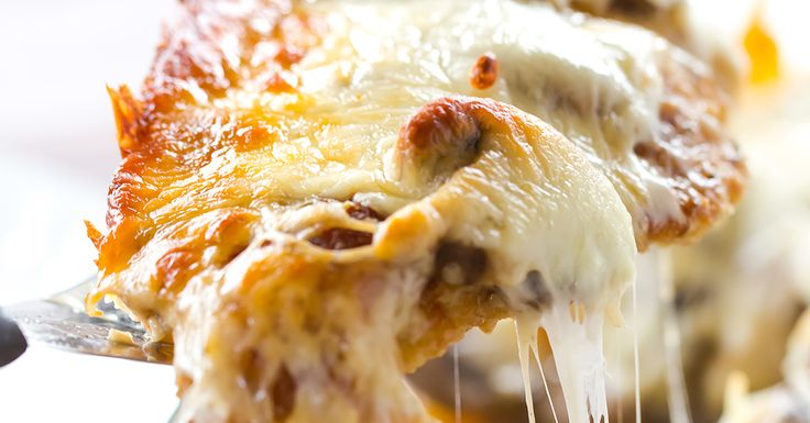 Cheesy Chicken with Mushrooms   Brown Eyed Baker