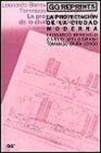 la proyectacion de la ciudad moderna (3ª ed.)-9788425218385