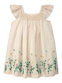 Baby Clothing: Baby Girl Clothing: New: Tree House | Gap: Cute Little Girls, Smocking Dresses, Embroidered Smocking, Dresses Skirts, Baby Gap, Little Girls Dresses, Baby Girls Clothing, Embroidery Dress, Baby Girls Dresses