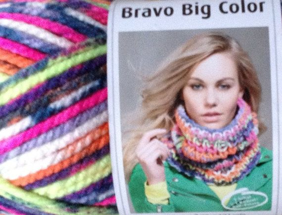 German yarn  Bravo Big Color brand German thick and by Madebyfate, $16.00