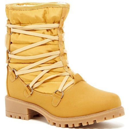 Cold-Weather Boots You'll Actually Want To Wear #refinery29  http://www.refinery29.com/cold-weather-boots#slide-28  For sunny days (and to make those that aren't feel sunny, too).Cold Front Women's Sleighbell Winter Boot, $48, available at Walmart. ...