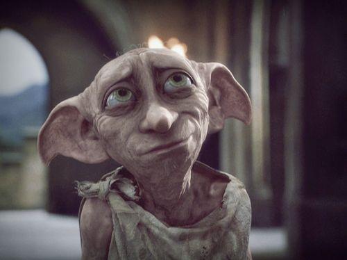 Si te gusta #harry #potter, podrás saber que este personaje es #Doby