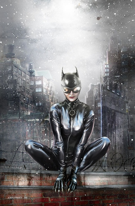 Catwoman DC Comics  Gorgeous artwork thank you...CATWOMAN ROCKS!!    btw MEOW......prrrrrrrrrr