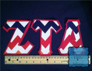 How To: Make Your Own Greek/Sorority Letter Shirts! Easy Step-By-Step Guide!