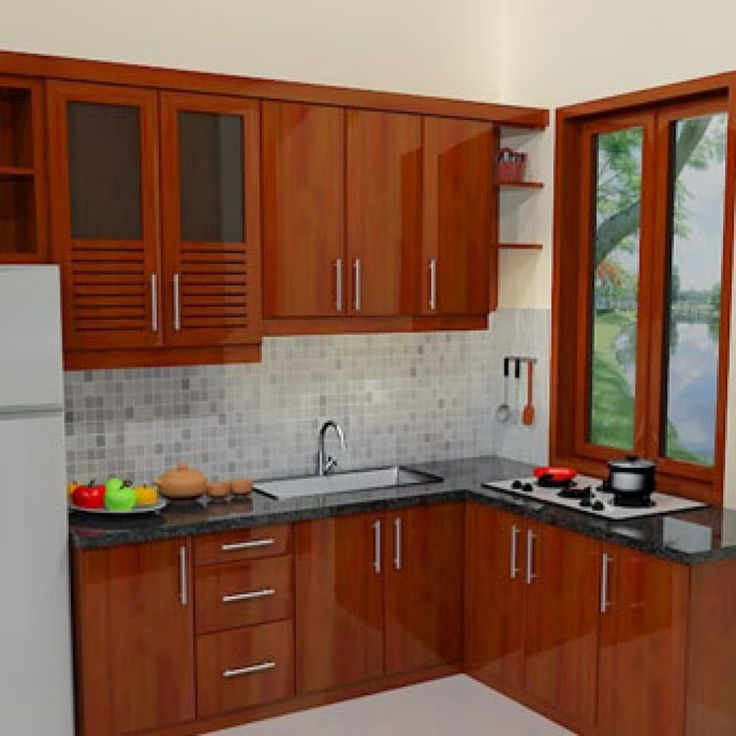 146 Amazing Small Kitchen Ideas That Perfect For Your Tiny: Gambar Model Dapur Sederhana