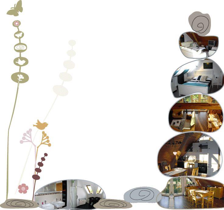 Uckermark Ferienwohnung Garten der Steine (für 6 Pers, 3  ~ Geschirrspülmaschine Größen