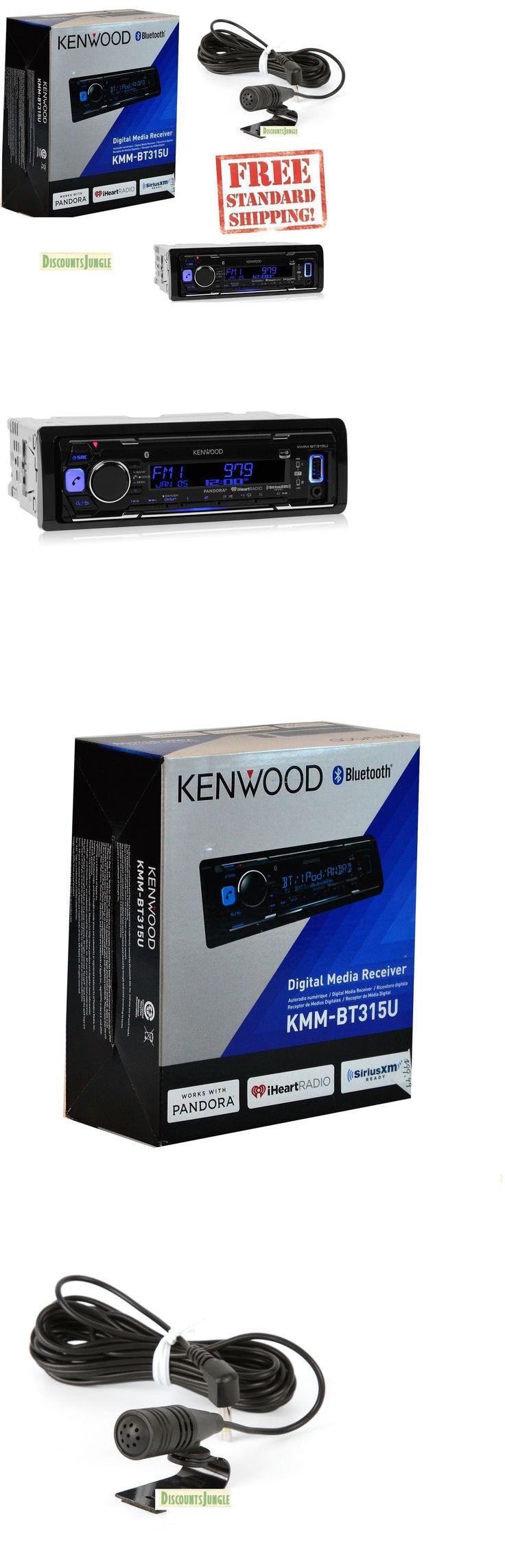Car Audio In-Dash Units: New Kenwood Kmm-Bt315u Single Din W/ Bluetooth Digital Media Car Stereo Receiver BUY IT NOW ONLY: $93.95