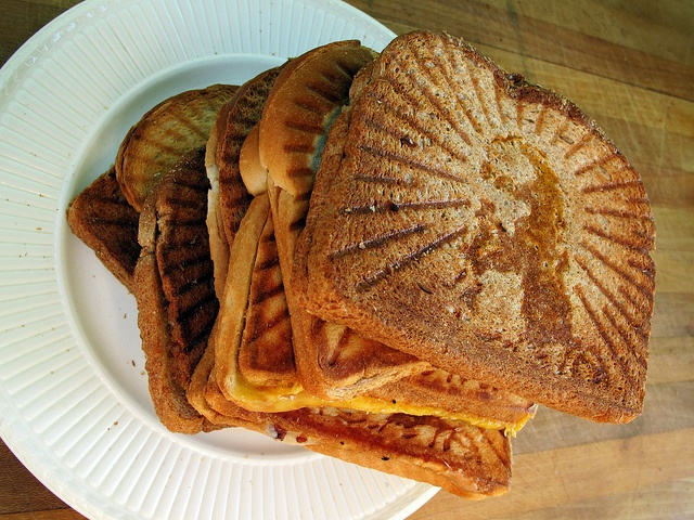 Grilled Cheesus      Well he did bless the loaves and fishes...