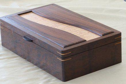 Imbuia keepsake box