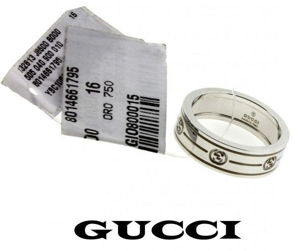 Trendy  jewelrybydavid Gucci ring in k white gold new in box size