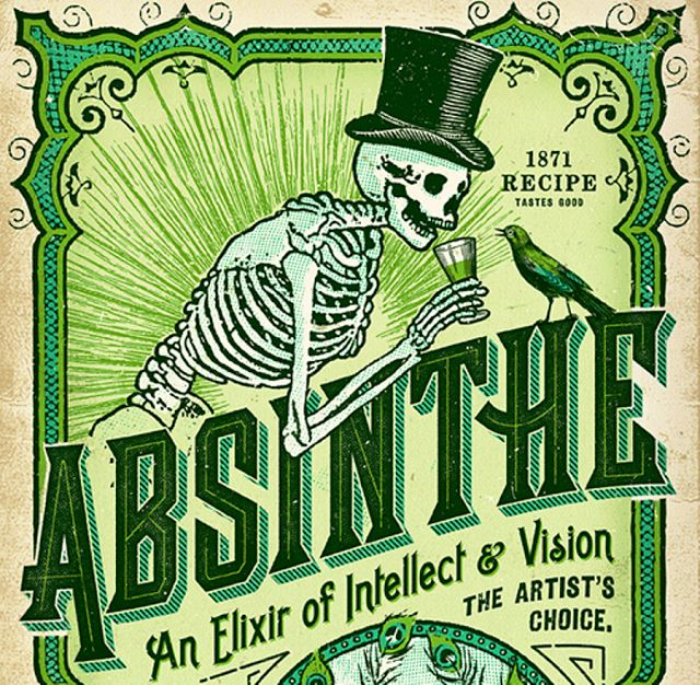 Absinthe is an anise-flavored liquor or spirit that is made by steeping wormwood ('quinine of the poor') and other aromatic herbs (hyssop, lemon balm, and angelica) in alcohol. The drink was invented by one Pierre Ordinaire, a French doctor, as a remedy for his patients.