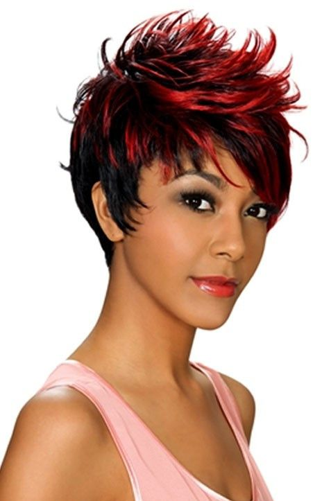 Zury Hollywood Sis Celeb High Transfer Heat Synthetic Remy Fiber Wig, Leonie, Short Cut. Style Bang, Heat friendly up to 400F