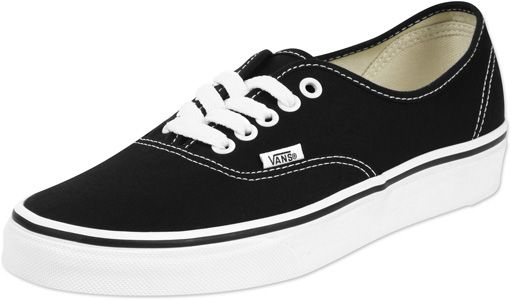 Der Vans Authentic Schuh ist so etwas wie der schlankere Bruder des Vans Era (zur Erinnerung: einer DER ersten Skate-Sneaker überhaupt!) und kommt hier in der klassischen Farbkombi Schwarz-Weiß.Bei uns im Shop ist er bei beiden Geschlechtern so beliebt wie die Brötchen in der Bäckerei und hat seinen festen Platz in unserem Sneaker-Shop!- schwarzes Canvas- weiße Metallösen- weiches Fußbett- vulkanisierte Gummisohle- kleines Label seitlichObermaterial: TextilFutter: Textil
