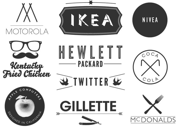 31 best images about Logos: Trendy on Pinterest