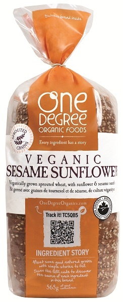 Have you tried veganic sprouted bread?