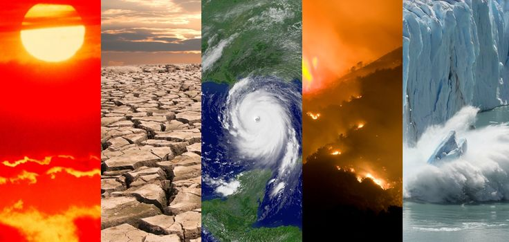 What climate-related events happened around the world this month?  (NOAA)