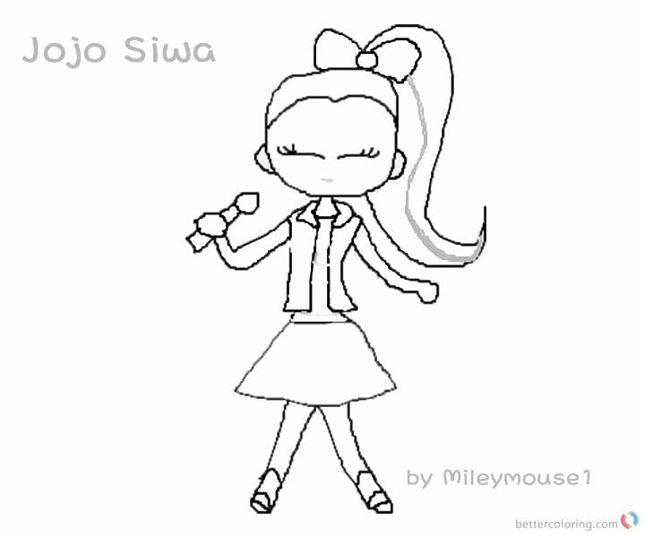28 Jojo Siwa Coloring Page In 2020 Coloring Pages Captain