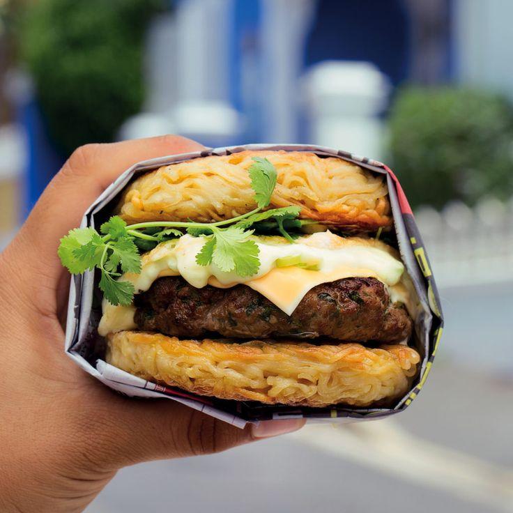 Ramen burgers - MyKitchen