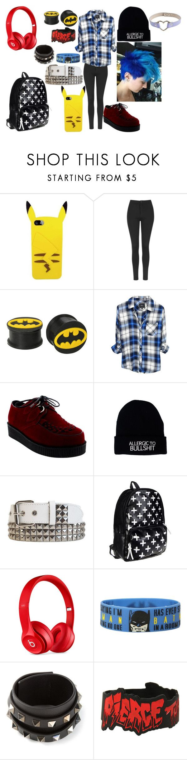 "f52e43d07d22e605109a412c22c8f653 - ""Ayee"" by dino-satan666 ❤ liked on Polyvore featuring Topshop, Hot Topic, Rail..."