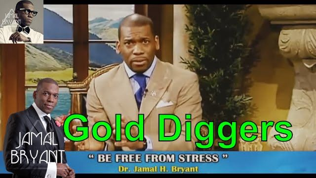 Pastor Jamal Bryant Minitries Sermons 2016 - Be Free From Stress & Death To Gold Diggers